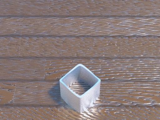 Illusion, blenderja, Ambiguous Cylinder (3DCG) GIFs