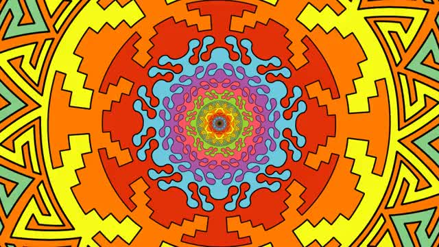 Watch and share Aztecadelic - JonnaP Art GIFs by Jonnap Arts on Gfycat