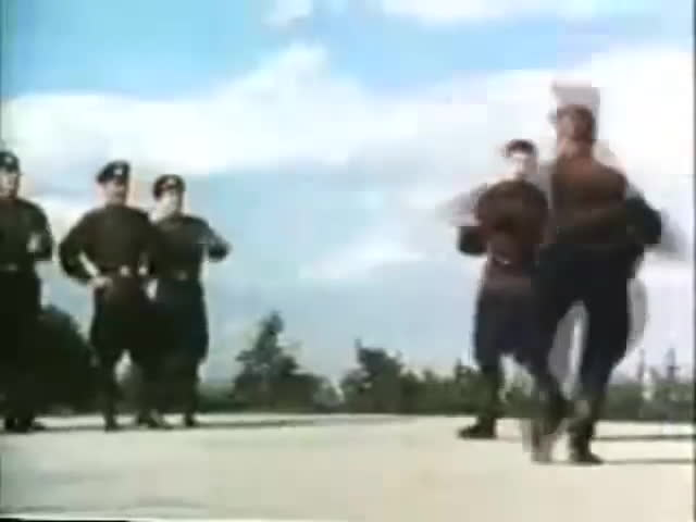 dance of the soldiers, hard bass, soviet army, Soviet Army dancing to Hard Bass GIFs