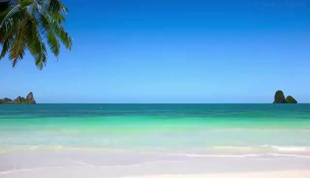 Watch and share Pan Flute, Piano, Drums... Meditation Music - Relax Beach Background GIFs on Gfycat