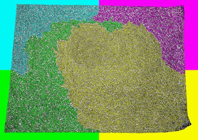 Watch Maze Flood Fill GIF by @vindicator209 on Gfycat. Discover more eyebleach GIFs on Gfycat