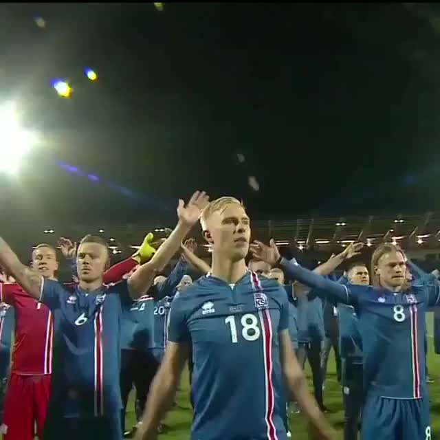 Watch Smallest nation ever to qualify for the World Cup. If you're Iceland, you Viking clap. GIF on Gfycat. Discover more related GIFs on Gfycat