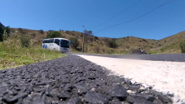 Watch and share GOPRO Almost Crushed By Bus GIFs by afarzinho on Gfycat