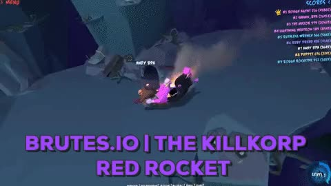 Watch Brutes.io | The Killkorp Red Rocket GIF by BulletProof (@bulletproof) on Gfycat. Discover more brutes.io, bulletproof, miniclip GIFs on Gfycat