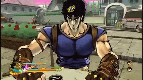 eyes of heaven, jojo's bizarre adventure, stardustcrusaders, Softy GIFs