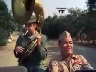 Gomer Pyle USMC S3E18 Go Blow Your Horn ♥ GIFs