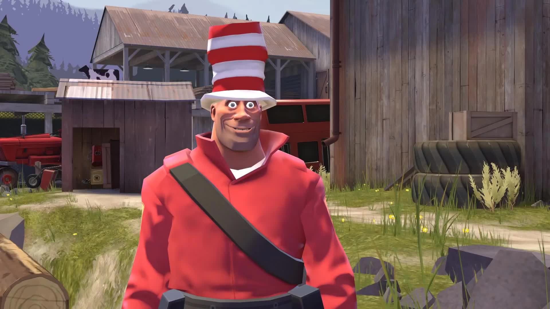 Comedy, Magical Events, animation, demoman, engineer, funny, gmod, heavy, medic, miss pauling, pyro, scout, sniper, soldier, spy, stblackst, team fortress 2, tf2, valve, Not so Magical Events: Soldier and Spy GIFs