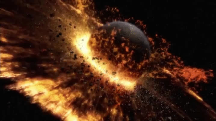 explosion, outer space, space, Explosion GIFs