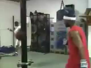 Watch Vintage training from Roy Jones Jr. Crazy speed! GIF by @redditmedia on Gfycat. Discover more related GIFs on Gfycat
