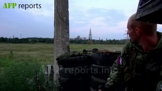 Watch East Ukrainian Separatist calmly smokes a cigarette as Ukrainian Army machine gun tracer fire flies past (reddit) GIF by @billythekid on Gfycat. Discover more militarygfys GIFs on Gfycat