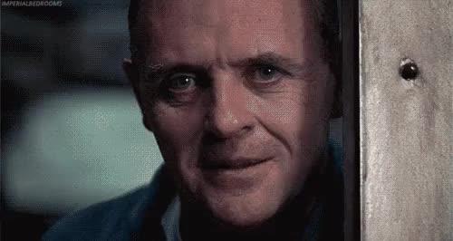 Watch with some fava beans and a nice chianti GIF on Gfycat. Discover more anthony hopkins GIFs on Gfycat