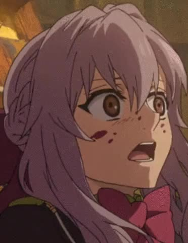 Watch Terrified Shinoa [Owari No Seraph] : animegifs GIF on Gfycat. Discover more related GIFs on Gfycat