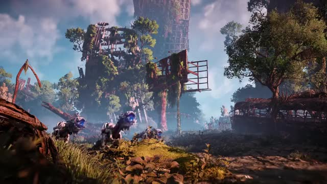 Watch Horizon Zero Dawn - PlayStation Experience 2016: The Machines Trailer | PS4 GIF on Gfycat. Discover more horizon zero dawn, playstation experience, psx GIFs on Gfycat