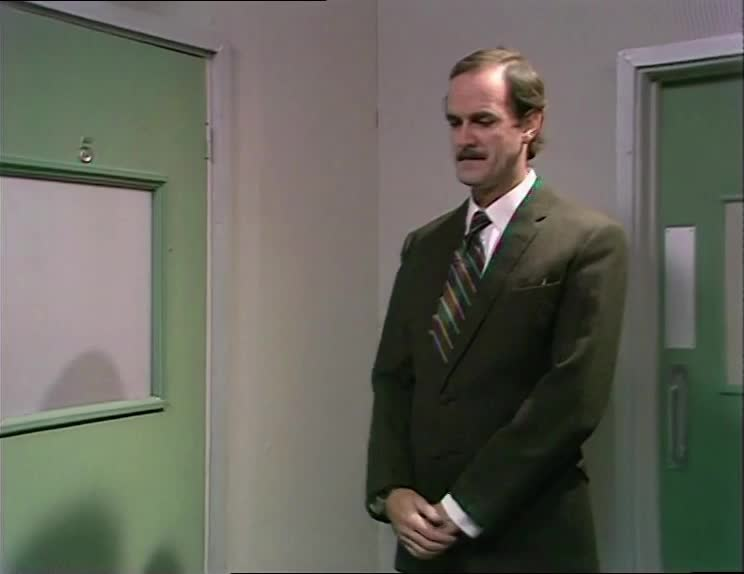 basil fawlty, excited, excited expectation, fawlty towers, glad, hand rubbing, happy, john cleese, Fawlty Towers S01E06 - Rubbing hands gesture GIFs