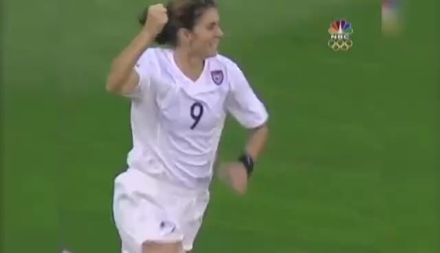 Watch and share Mia Hamm | Great Moments In Team USA History GIFs on Gfycat