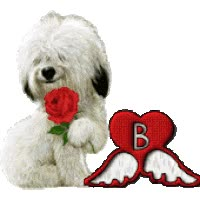 Watch and share Sheep Dog Valentine Alphabet Animated Gif animated stickers on Gfycat