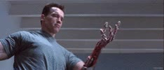 Watch and share Arnold Schwarzenegger GIFs and The Terminator GIFs on Gfycat