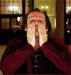 Watch and share Jack Nicholson GIFs and The Shining GIFs on Gfycat