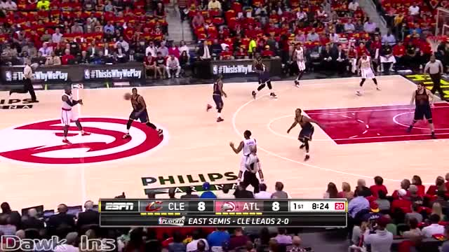 Watch Jeff Teague Full Highlights 2016 ECSF Game 3 vs Cavaliers - 19 Pts, 14 Assists GIF on Gfycat. Discover more basketball, dawkins, nba GIFs on Gfycat