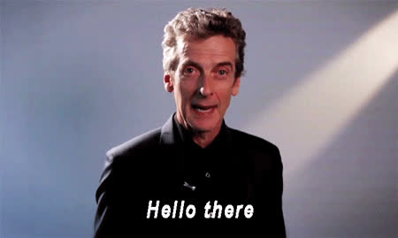 hello there, hi there, peter capaldi, hello there GIFs