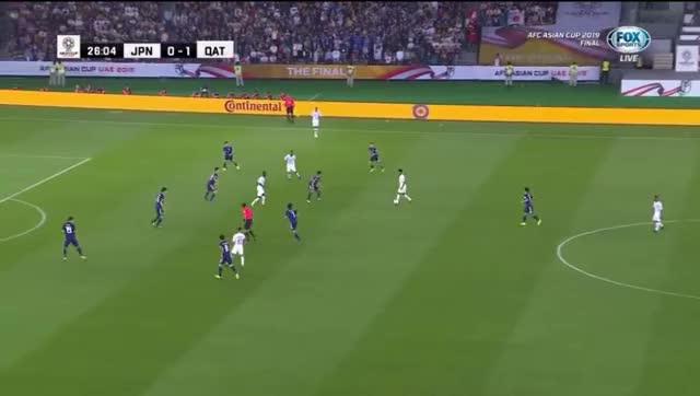 Watch and share Nhat-Ban-vs-Qatar-2-0 GIFs by Phong Mieu Nguyen on Gfycat