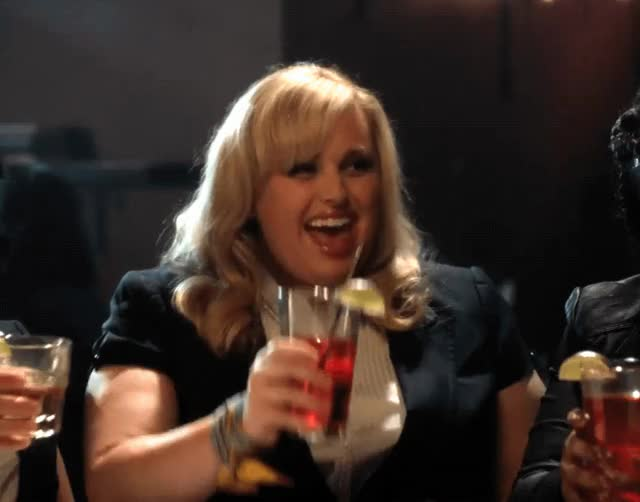 Watch and share Rebel Wilson GIFs by Reactions on Gfycat