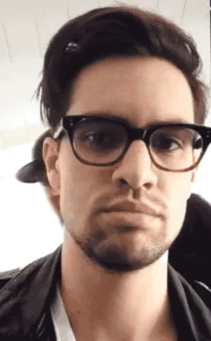 Watch and share Brendon Urie Is Bae GIFs and Before Anyone Else GIFs on Gfycat