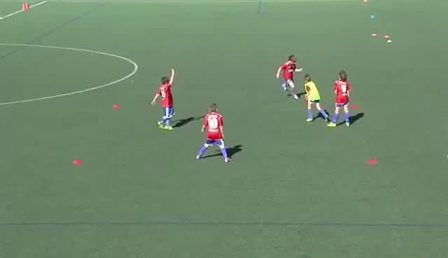 Watch and share Técnica Colectiva En Futbol Base: Concepto Y Tareas En Categoría Benjamín.Ed 85. Vídeo 002/003 GIFs on Gfycat
