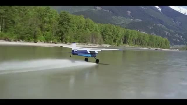 Watch Water skipping a Cessna 180 GIF on Gfycat. Discover more avitation, flying, plane GIFs on Gfycat