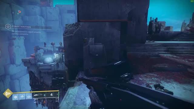 radiant machine gun frame quest