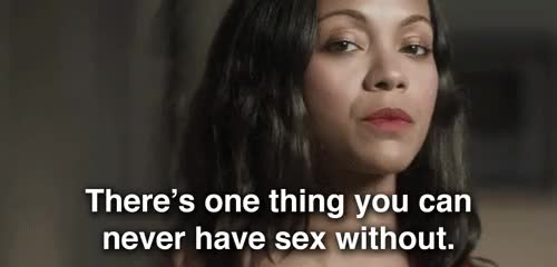 Watch this sex GIF on Gfycat. Discover more sex, zoe saldana GIFs on Gfycat