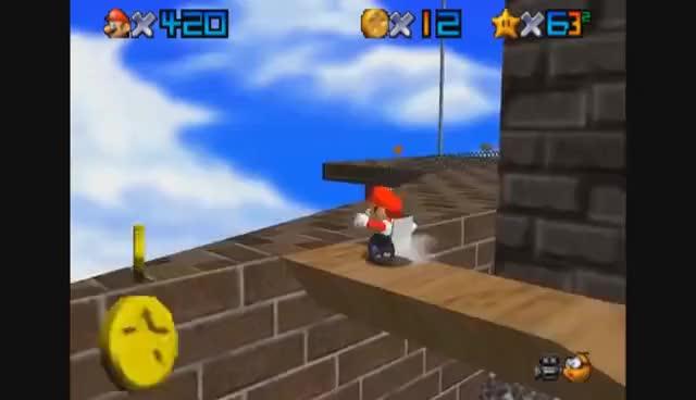 Watch and share [Vinesauce] Joel - Super Wheelchair Mario 64 GIFs on Gfycat