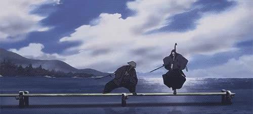 Watch and share Fight Jin Anime Gif Samurai Champloo GIFs on Gfycat