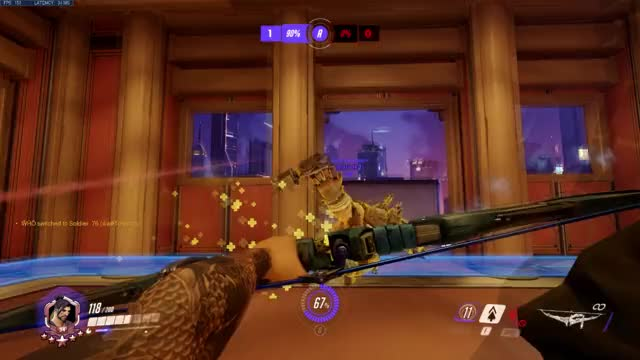 Watch and share Overwatch GIFs and Hanzo GIFs by problemsome on Gfycat