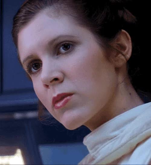 Watch and share Princess Leia GIFs on Gfycat
