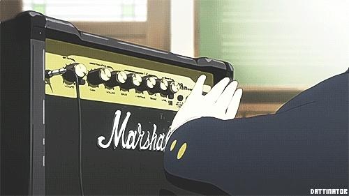Gibson Les Paul sunburst mmmmmmmmmmmmmmmmmm, Hirasawa Yui, K ON!, K-ON!, kongif, mygif,