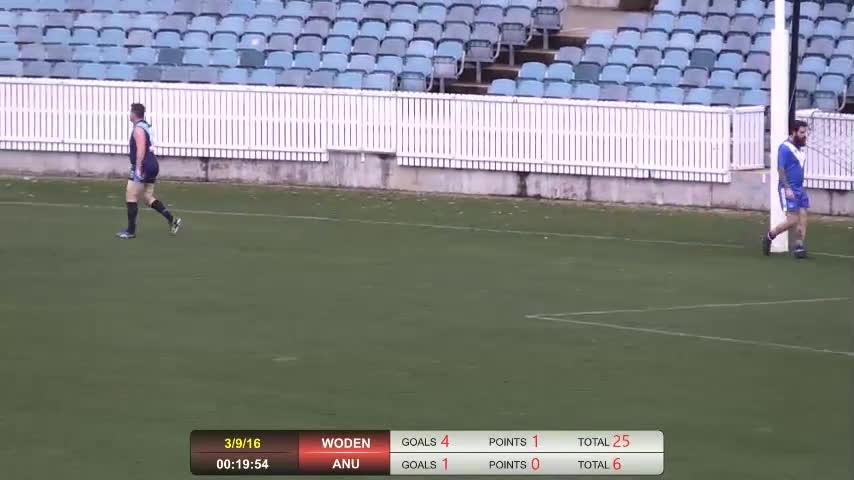 2016 AFL Canberra 3rd Grade Grand Final - Woden Blues v ANU Griffins GIFs