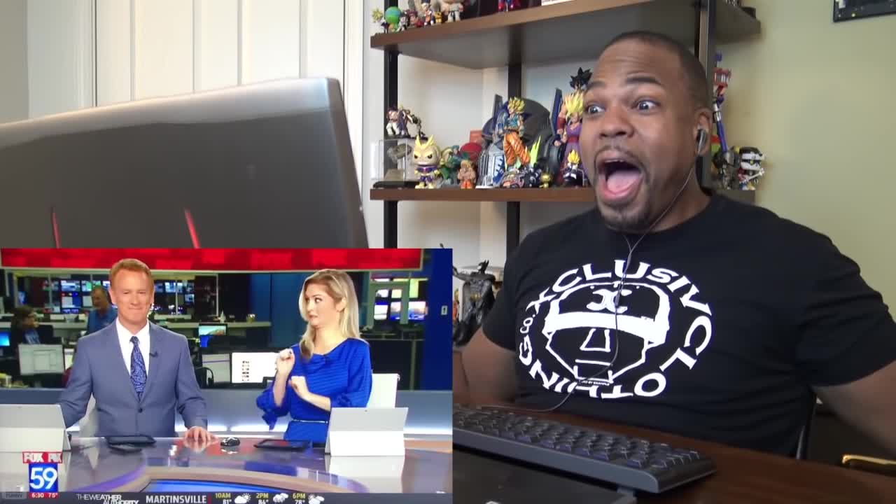 2018, Comedy, bloopers, funny, news, reaction, september, tyrone magnus, Tyrone Magnus watches the news. GIFs