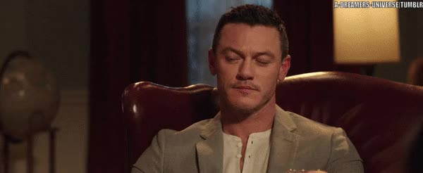 Watch and share Luke Evans GIFs and Josh Gad GIFs on Gfycat