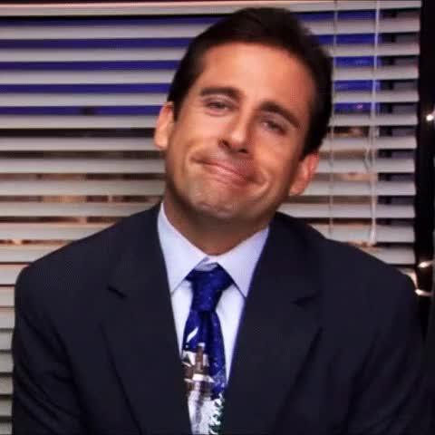 Watch and share Steve Carell On Michael Scott GIFs on Gfycat