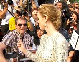 autographs, cannes, cannes 2015, cannes film festival, emily blunt, event, interview, my gifs, sicario, sicariomovie, Emily Blunt + original GIFs GIFs