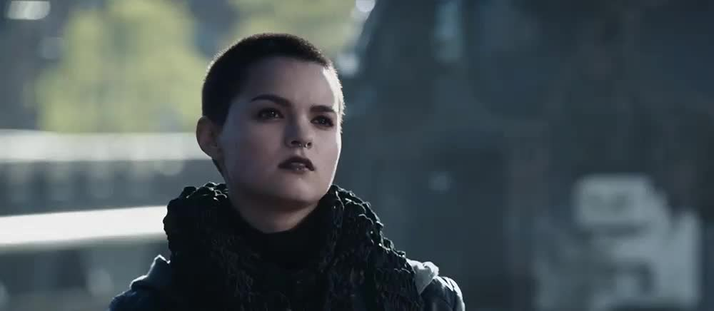 brianna hildebrand, shrug, My friend's reaction when I tell him I reached the front page. GIFs