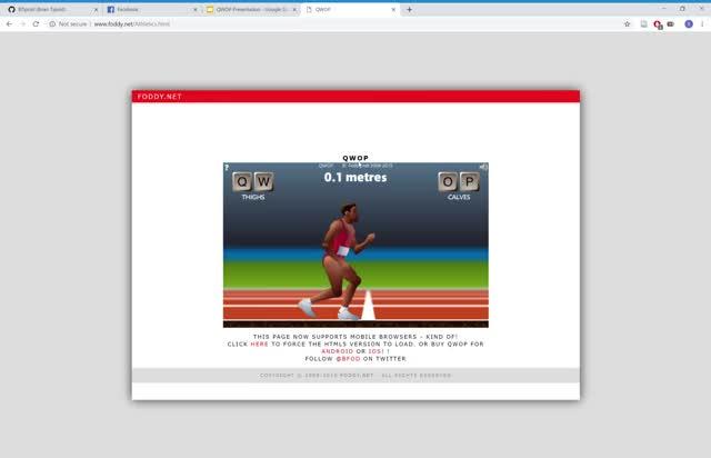 Watch and share QWOP - Google Chrome 2019-03-26 15-50-46 GIFs on Gfycat