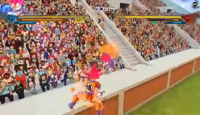 Watch and share Vegeta Super Saiyan God Revenge! Goku And Vegeta Last Battle Dragon Ball Xenoverse 2 Mod GIFs on Gfycat