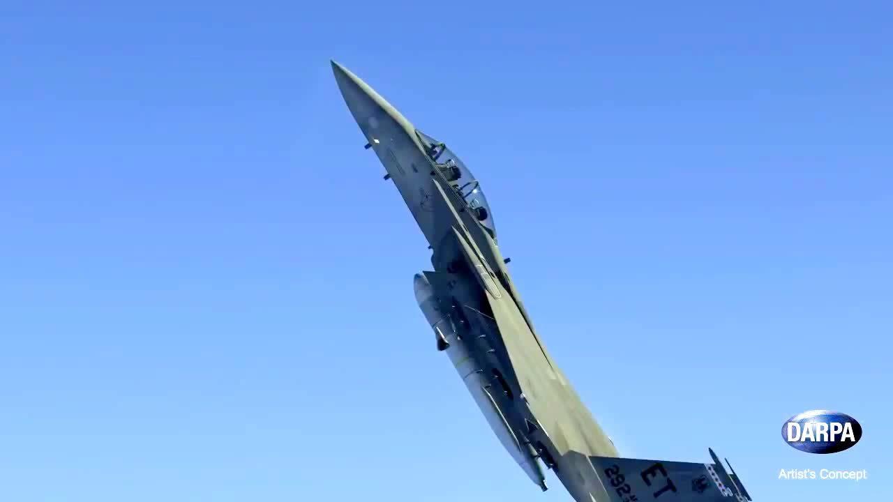 SpaceGfys, spacegfys, DARPA - Airborne Launch Assist Space Access (ALASA) Concept [720p] (reddit) GIFs