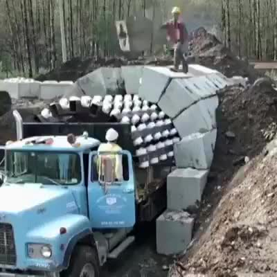 Watch and share The Way This Tunnel Was Constructed GIFs by iwannaknowwhoami on Gfycat