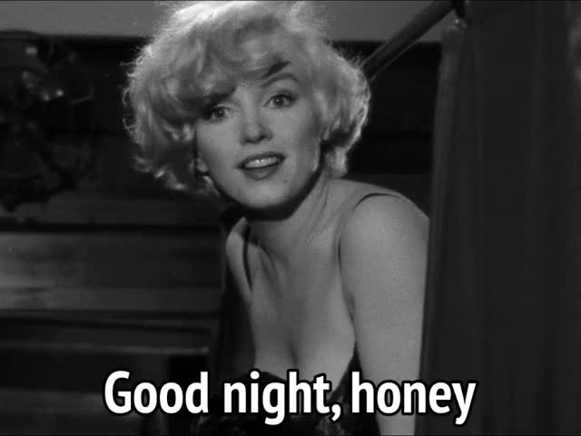Watch and share Marilyn Monroe GIFs and Good Night GIFs by MikeyMo on Gfycat