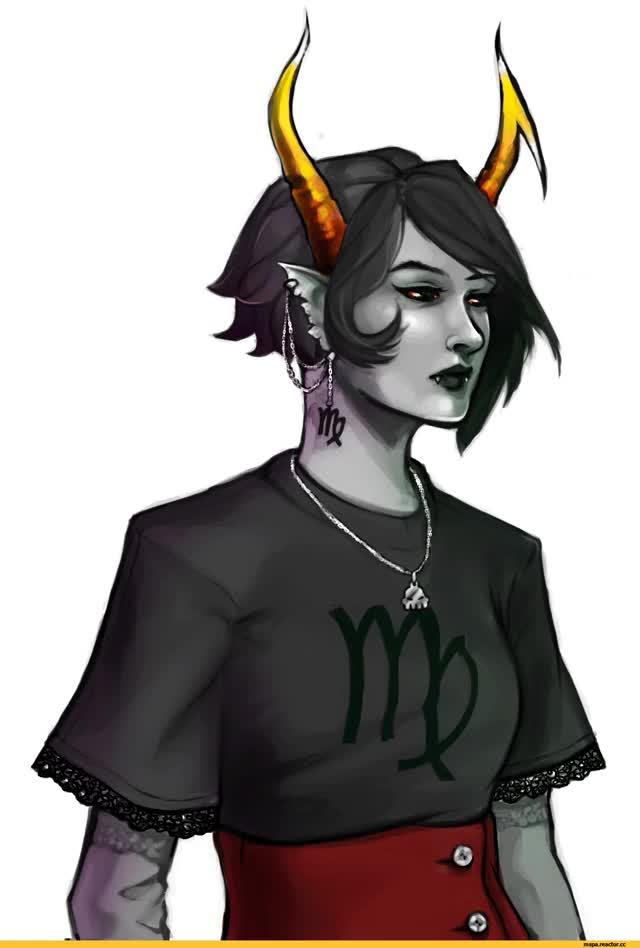 Watch and share MS Paint Adventures,фэндомы,Homestuck,MSPA Gif,HS Gif,Kanaya Maryam,Rose Lalonde,grimauxilialice GIFs on Gfycat