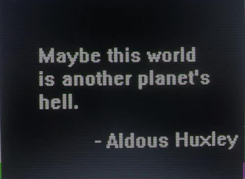 Watch and share Another Planet GIFs and Aldous Huxley GIFs on Gfycat