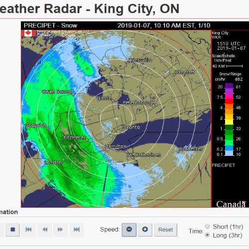 Watch and share Toronto Weather Force Field GIFs by reachersaidnothing on Gfycat